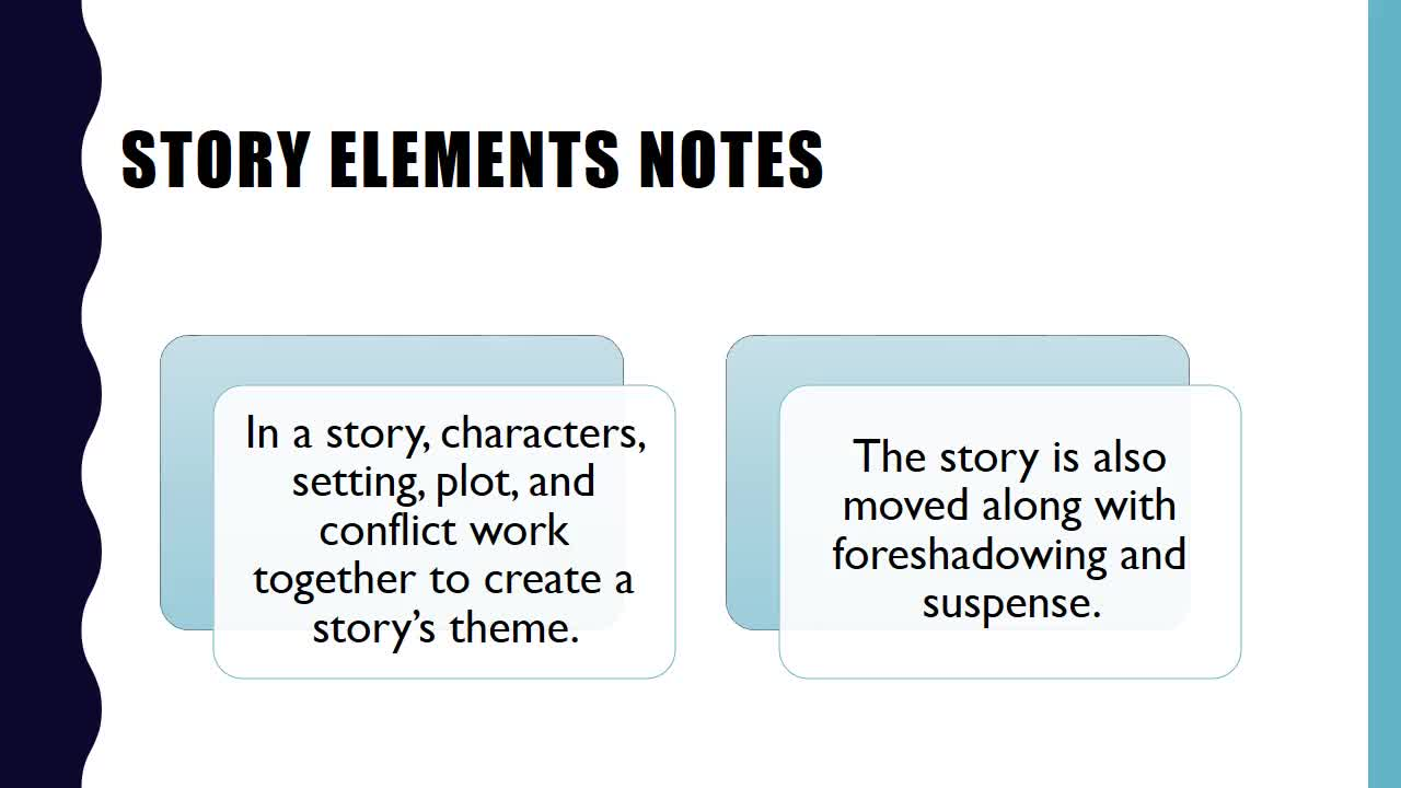 Story Elements Notes | Rock Springs Middle School