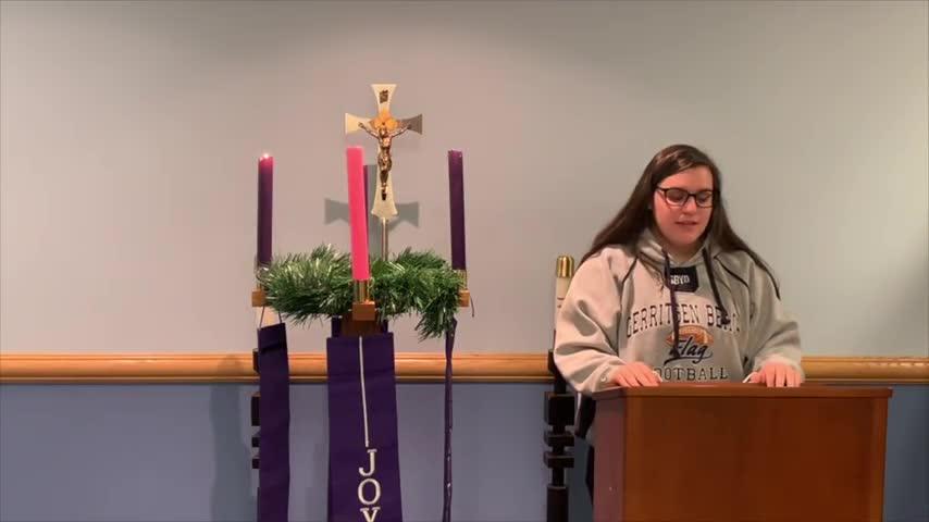 Third Week of Advent Prayer Service