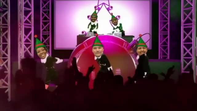 Christmas Coaches Dancing to Christmas Music!