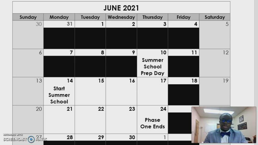 !! ATTENTION HIGH SCHOOL & MIDDLE SCHOOL PARENTS !! HS/MS Summer School plans and schedule are laid out by Principal Small in this short 5-minute video.  Please watch if your child will be attending Summer School!