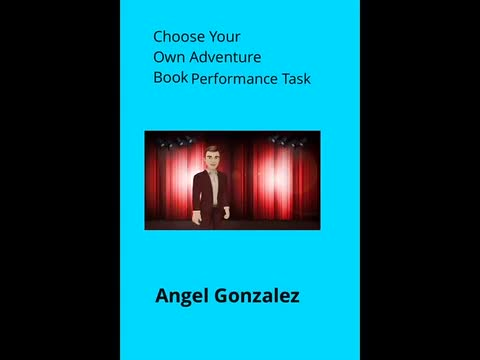Choose Your Own Adventure Book: Angel Gonzalez