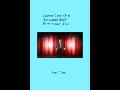 Choose Your Own Adventure Book: Fred Cruz