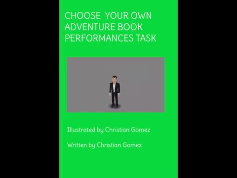 Choose Your Own Adventure Book: Christian Gomez