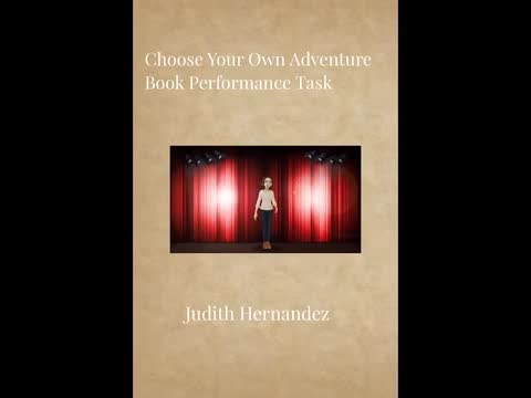 Choose Your Own Adventure Book: Judith Hernandez