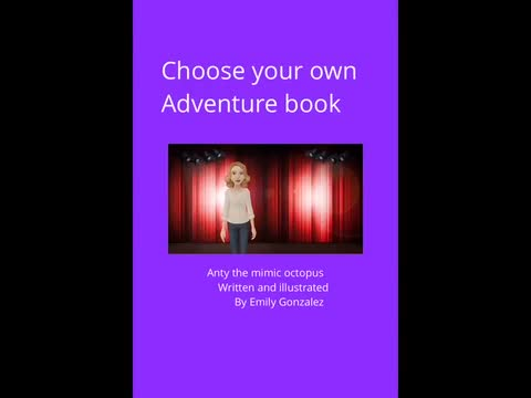 Choose Your Own Adventure Book: Emily Gonzalez