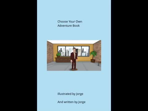 Choose Your Own Adventure Book: Jorge Sandoval