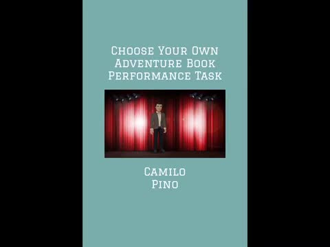 Choose Your Own Adventure Book: Camilo Pino