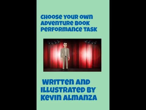 Choose Your Own Adventure Book: Kevin Almanza