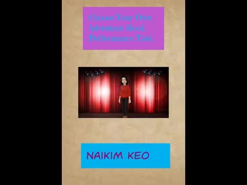 Choose Your Own Adventure Book: Naikim Keo
