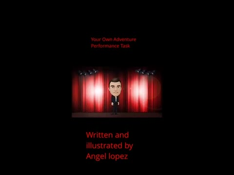 Choose Your Own Adventure Book: Angel Lopez