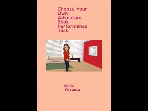 Choose Your Own Adventure Book: Maria Virreueta