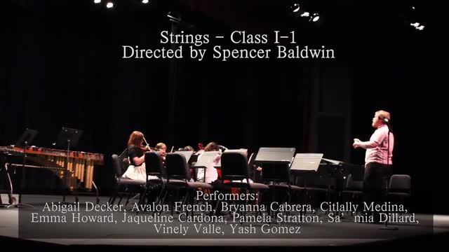 Spring Strings and Band Performance