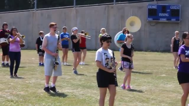 Band Camp Day 1