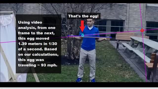Cole Stetzar can't break and egg!
