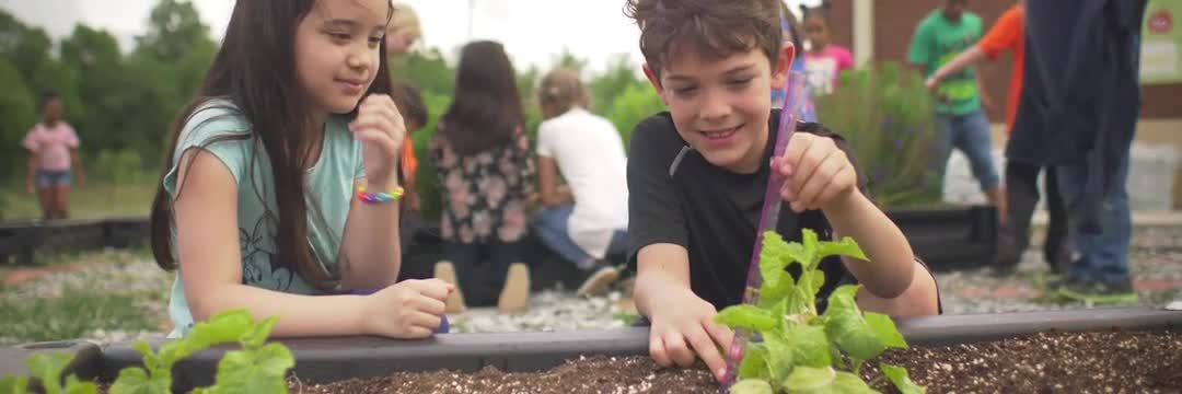 This is the video of students at Fairforest Elementary school enjoying the educational process. You see them learning, smiling, working on the school garden and having a fun time with their friends.