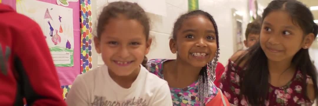 This video shows students at Lone Oak Elementary School enjoying the educational process.