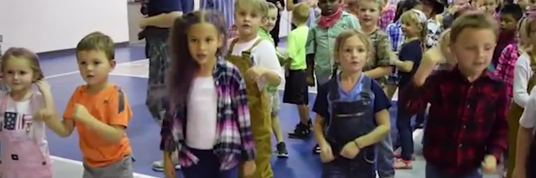 A video with various clips of students at Pauline-Glenn Springs enjoying the educational process.