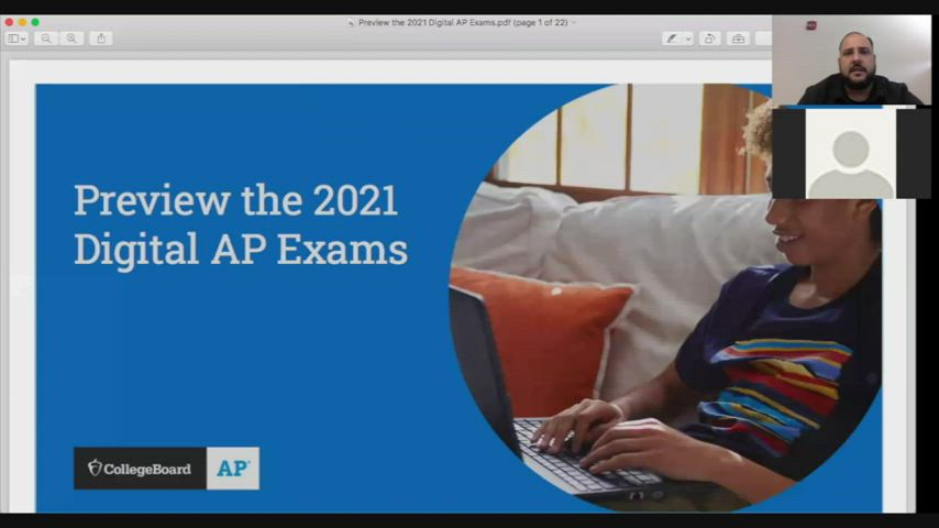 AP Test Info Webinar