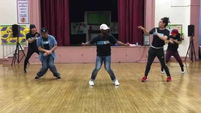Universal Hip Hop Dancers Visit Sheridan