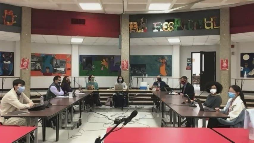 April 13, 2021 School Board Meeting