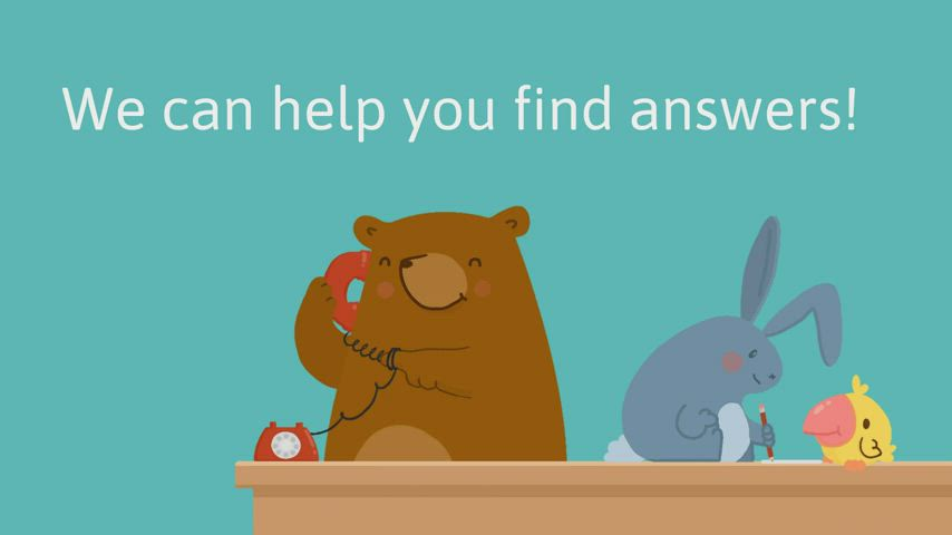 An animated video in English with information on how to register for kindergarten
