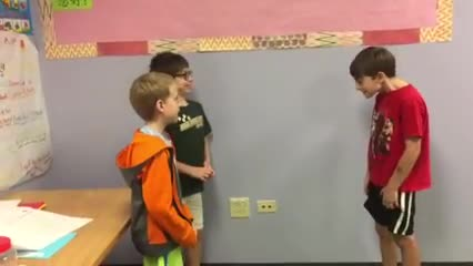 Fun Performance in Chinese Class by August, Daniel and Jack