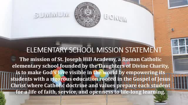 The History of St. Joseph Hill Academy