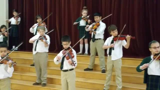 Violin Performance by Lower School Students