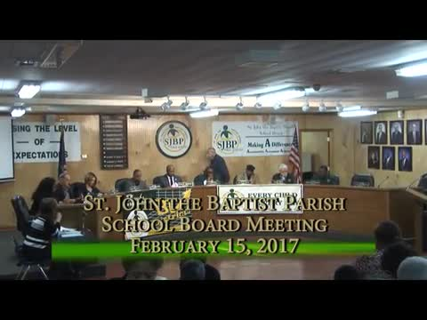 School Board Meeting 2017-02-15