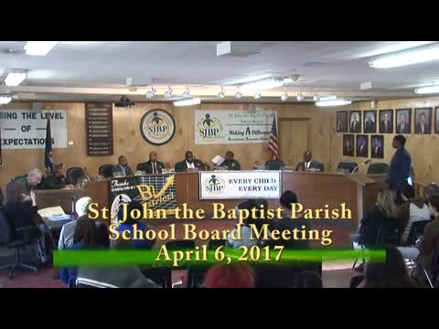 School Board Meeting 2017-04-06