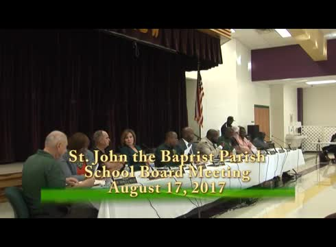 School Board Meeting 2017-08-17