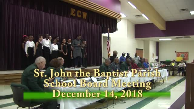 School Board Meeting 2017-12-14