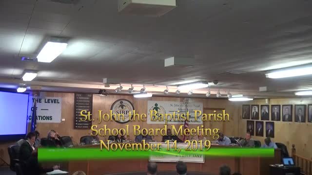 School Board Meeting Nov. 14, 2019