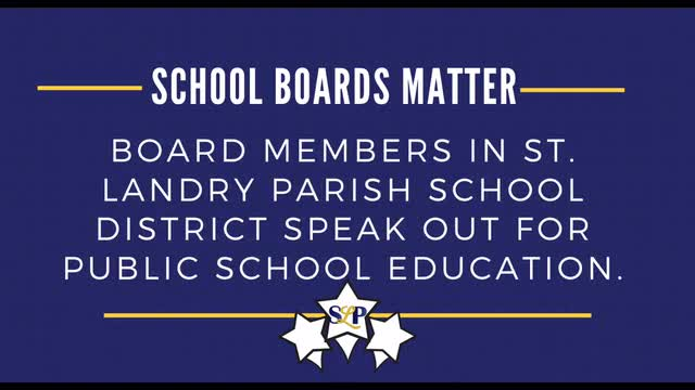 SCHOOL BOARD RECOGNITION MONTH VIDEO