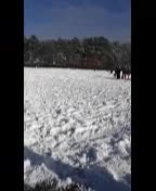 Outdoor Recess Snow Play!
