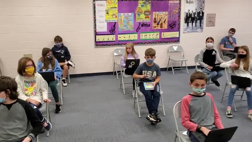 Fifth Grade Music Class 10/20