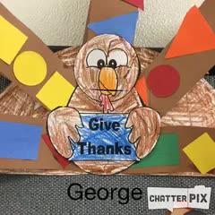 George Thankful Turkey