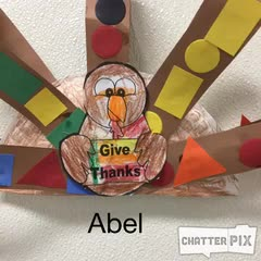 Abel Thankful Turkey