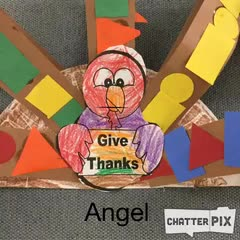 Angel's Thankful Turkey