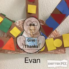 Evan Thankful Turkey