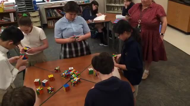 SPX STEM Rocks Rubik's Cube Competition