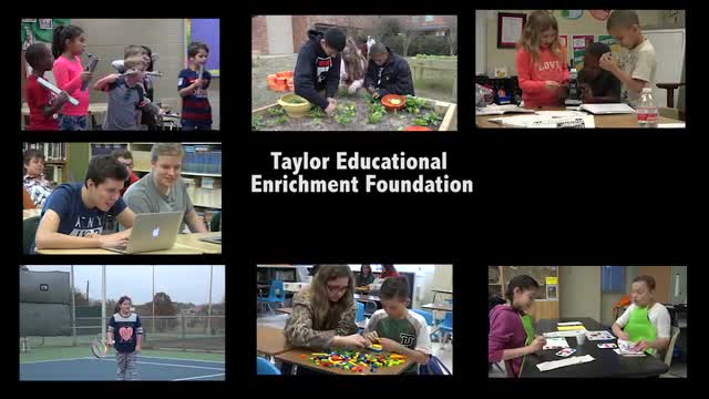 Taylor Educational Enrichment Foundation video