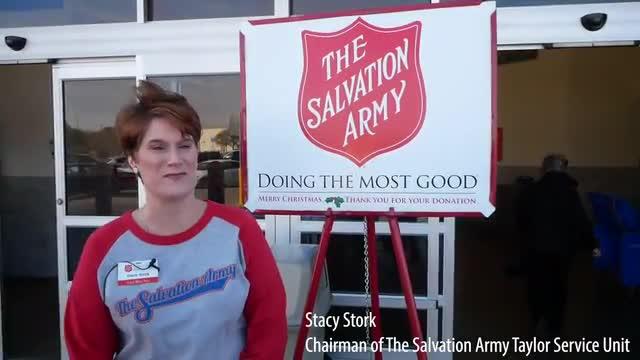 Salvation Army Video 2019 with Naomi Pasemann