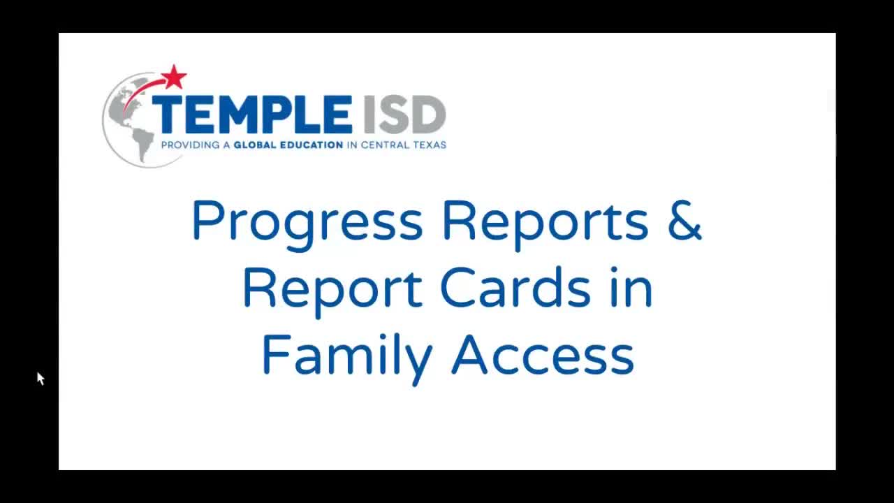 How to Look at Report Cards and Progress Reports Online | Temple