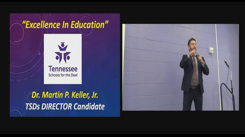 Dr. Martin P. Keller Interview - July 13