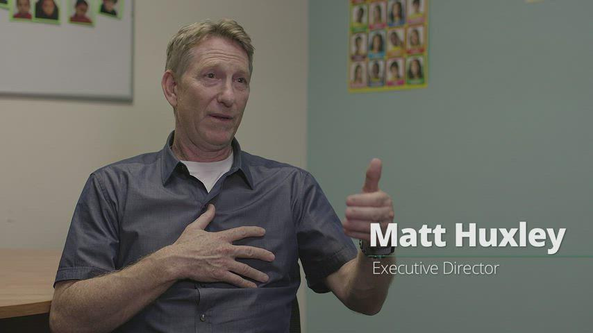 Meet the Executive Director Matt Huxley!