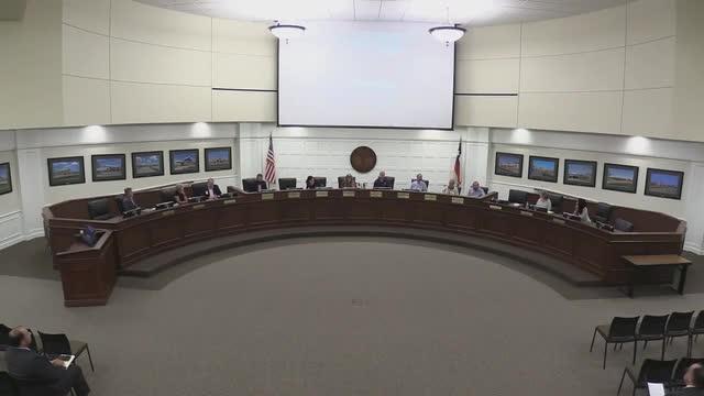 Special School Board Meeting (July 25, 2018)
