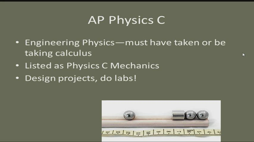 TMHS - Science - AP Physics C