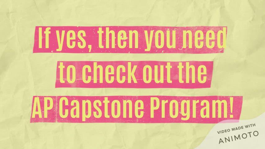 ELA - AP Capstone