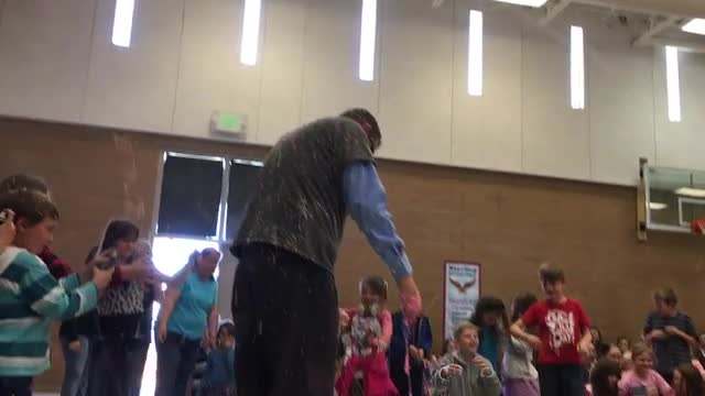 Mr. Peterson gets Silly stringed